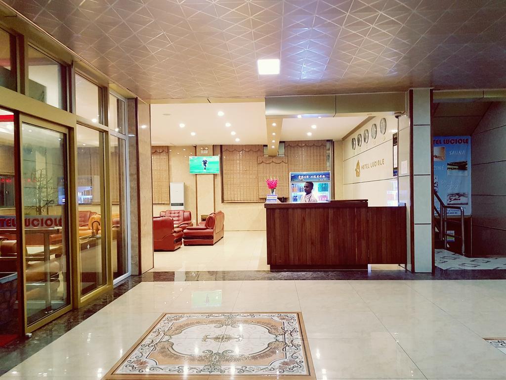 hotel Luciole accueil